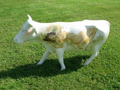 Vache Art on Cows