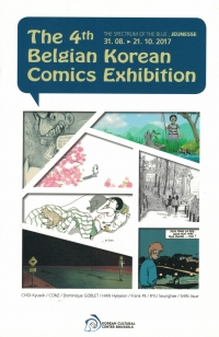 Belgian Korean comics exhibition