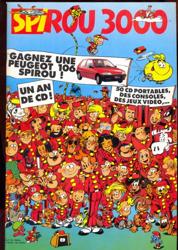 Tome & Janry dans Spirou 3000