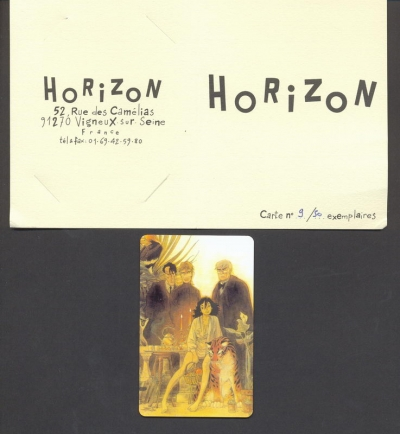 Carte plastique Horizon n° 9