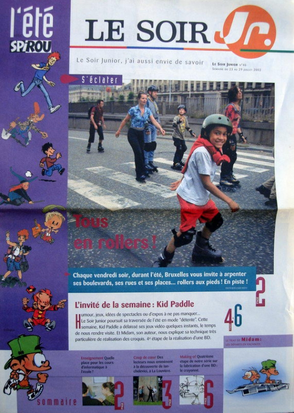 Le soir Junior n° 46