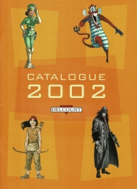 Delcourt Catalogue 2002