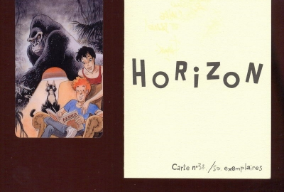 Carte plastique Horizon n° 32