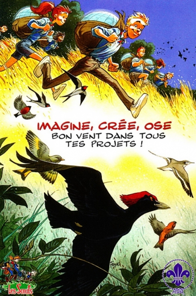 Imagine, crée, ose