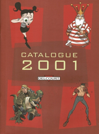 Delcourt Catalogue 2001