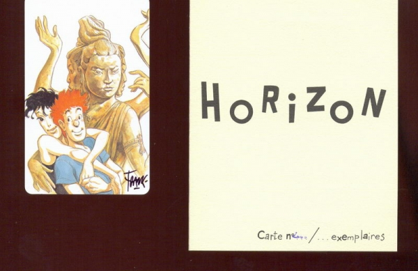 Carte plastique Horizon 2000