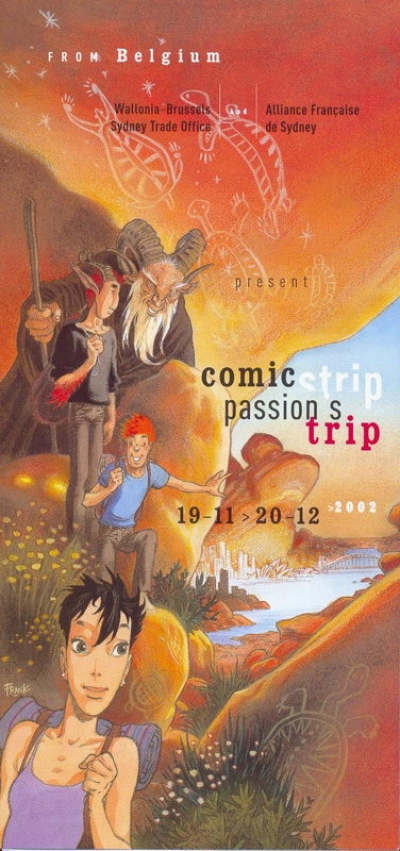 Comic strip, passion's trip Sydney