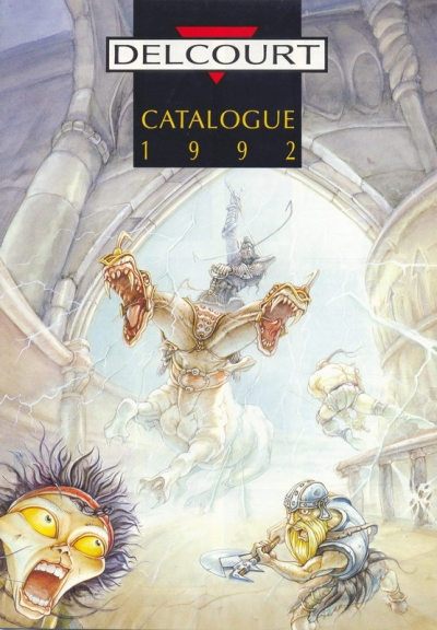 Delcourt Catalogue 1992