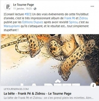 2021-01-11 : Le Tourne Page : Facebook post