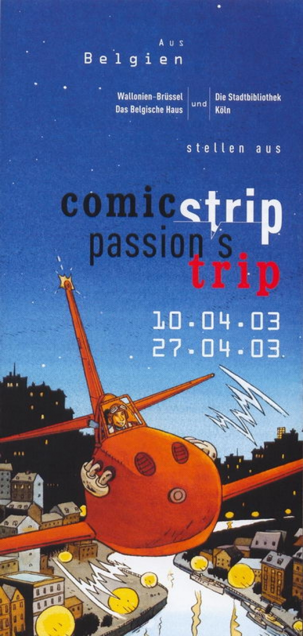 Comic strip, passion's trip Köln