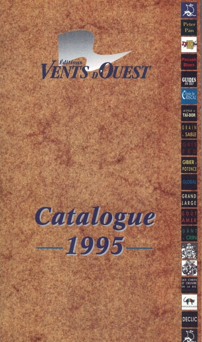 Vents d'Ouest éditions catalogue 1995