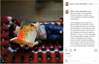2021-14-07 : Culture Deconfiture : Instagram post